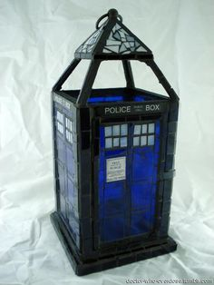 Mosaic TARDIS.