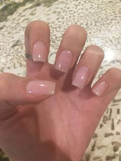 Hi maintenance by essie spring nail colors, spring nails, ballerina acrylic nails, top Glitter Gel Nails, Nude Nails, My Nails, Clear Acrylic Nails, Beige Nails, Clear Nails, Neutral Nails, Uv Gel Nails, Gold Glitter