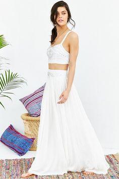 Ecote Poco Cocoa Maxi Skirt  Price : 159.00$