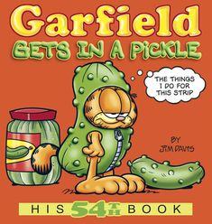 TROUBLE ON THE LOOSE!    Garfield, the furry desperado, is at large again in this most-wantedcollection of comics. Whether he's getting in a pickle or a jam, when it comesto trouble, the fat cat is always a glutton for punishment! Garfield Quotes, Garfield And Odie, Garfield Comics, Glutton For Punishment, Best Kindle, Jim Davis, Get Schwifty, Comic Strips, Audio Books
