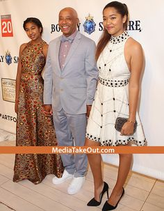 WOW . . . Look How GROWN Russell Simmons Daughters Are NOW . . . They Look Like They're Almost READY FOR COLLEGE!!!