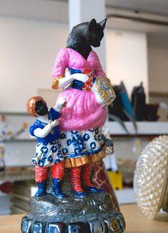 Marianne van Heeswijk - Loodzwaar en lichtzinnig - Keramiek, kitsch en lood wordt kunst