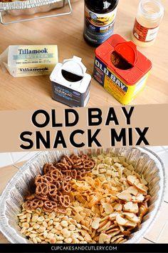 Pretzel Seasoning Recipes, Snack Mix Recipes, Chex Mix Recipes, Yummy Snacks, Chex Mix Flavors, Snack Mixes, Oyster Cracker Snack, Oyster Crackers, Homemade Chex Mix