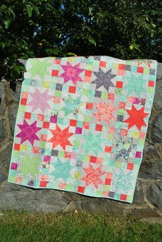 PDF Baby QUILT PATTERN....Quick and Easy...Layer Cake and Fat