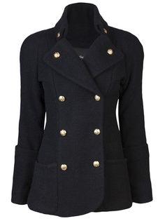 SMYTHE - Reefer Coat super love this coat