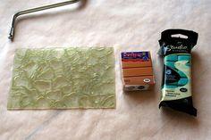 Sutton Slice tutorial.1 by l.joonas, via Flickr  ~ Polymer Clay Tutorials