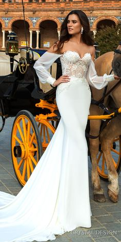 Perfect Wedding Dress, Dream Wedding Dresses, Bridal Dresses, Wedding Gowns, Wedding Bride, Dresses Elegant, 2017 Bridal, Beautiful Gowns, Dream Dress