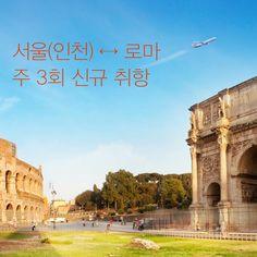5: 오래기다려온 로마!  6: 6월 30일부 화목토 운항  1: 한시 출발 아시아나 561편