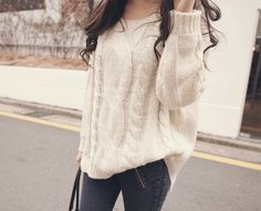 love this sweater, casual and comfy all at the same time!