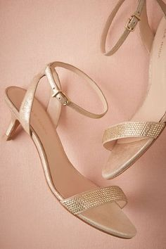 BHLDN Fabia Kitten Heels  in  Shoes & Accessories Shoes at BHLDN