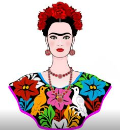 Frida Paintings, Happy Paintings, Colorful Paintings, Frida Kahlo Portraits, Mixed Media Faces, Frida And Diego, Frida Art, Graffiti Wall Art, Motif Vintage