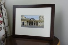 City of Bath UK Roman Baths  : King's And Queen's Entrance, Stall Street - Cross Stitch Kit