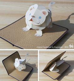 how to make a book card