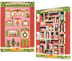 Benefit Cosmetics Candy-Coated Countdown Collection - This advent calendar is a MUST-HAVE for all beauty lovers this holiday season! Enjoy the surprise and delight of a Benefit Cosmetic goody each day as you countdown to Christmas! Cosmetic Advent Calendar, Beauty Advent Calendar, Advent Calendars, Calendar 2014, Countdown Calendar, Relaxing Day, Christmas Countdown, Christmas Design, Diy Gifts