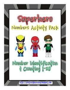 Here's a math pack designed for the superheroes in your classroom!