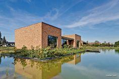 Röben Klinker, Bricks | Wohnhaus Wartin | Klinker: Riemchen MOORBRAND sandgelb-bunt | Planung: Dr. Dana Malzahn-Knauer | Foto: Detlef Klose