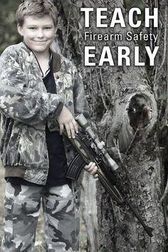 Teach Firearm Safety Early #SecondAmendment