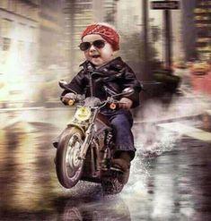 Biker Baby <3