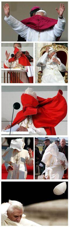 wind vs the pope