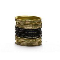 Liquidationprice.com - Bangle Bracelet Sets of 24. Confetti Rectangle Black, $3.00 (http://www.liquidationprice.com/bangle-bracelet-sets-of-24-confetti-rectangle-black/)