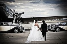 Jaguar Mk5 wedding cars at Essendon airport.   #jaguar #weddingcar #weddingcarsmelbourne #weddings #classiccars #jag #mkV #weddingcar #weddings #classiccar #style #timeless #melbourne #melbournewedding  #weddingcarsmelbourne  #rollsroyce #tripler #jaguar #limo