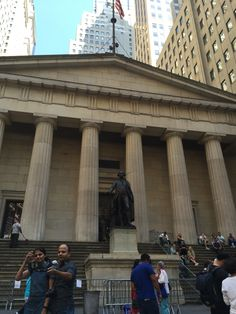 Federal Hall - Wall Street - Financial District
