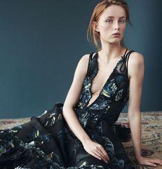 Vogue China April 2015 | Rianne van Rompaey by Daniel Jackson [Editorial]