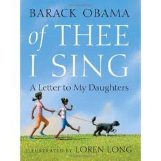 Of Thee I Sing: A Letter to my Daughters~ I began an Ebony Bookcase for my daughter, Madilyn, in 2010 to celebrate her first Christmas.  This was the first book in her collection.  I decided to make it a tradition to gift her an African American Children's book each Christmas and to write a special note on the inside cover.  The personal note chronicles her growth and development over the course of the year & all of her cute little mannerisms.