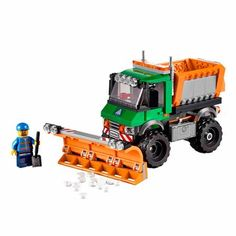 Lego City 60083 Snowplow truck 2015 complete w/ minifig and instructions Lego Clones, Lego City Sets, Buy Lego, Snow Plow, Building For Kids, Lego Building, Lego Group, Lego News, Truck Bed