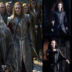 Feren the Hobbit Legolas, Tauriel, Gandalf, Jrr Tolkien, Tolkien Books, Lotr Elves, Mirkwood Elves, O Hobbit, Elvish