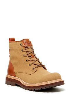 Huntley Canvas Boot