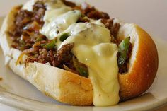 Susan Recipe: SLOW COOKER PHILLY CHEESE STEAK SANDWICHES
