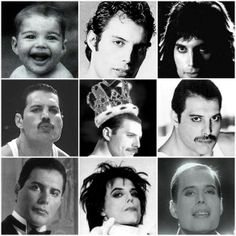 Freddie Mercury - Portraits