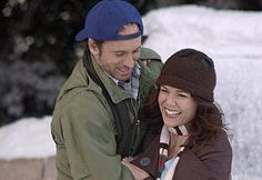 Luke and Lorelai - Gilmore Girls mollyseawright