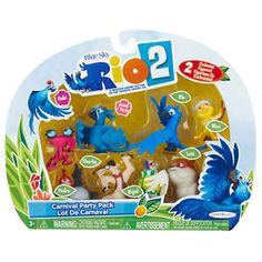 Rio 2 Carnival Mini Figures   Kids Cool Toys UK