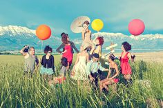 Hair and Make-up by Steph: Circus Chic Photo Shoot
