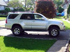 2007 Toyota 4Runner Sport Edition Lift directions
