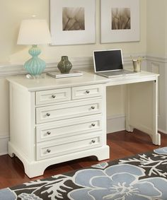 Give your home or office a timeless touch of style and versatility with the Home Styles Naples Expand-a-Desk – White . This charming desk can be. Home Office Desks, Home Office Furniture, Convertible Table, White Desks, Nebraska Furniture Mart, Desk Space, Space Saving Furniture, Home Kitchens, Small Spaces