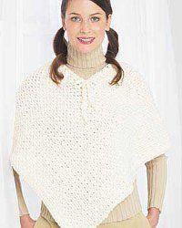 Simple Crochet Poncho