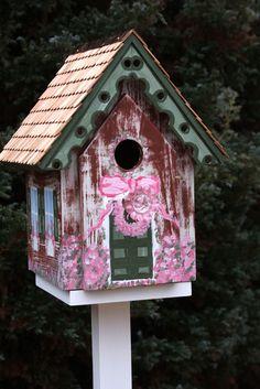 Pink Bluebird House