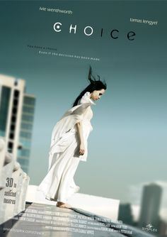 Poster of the shortfilm, Choice.