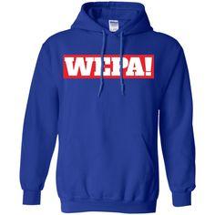 Wepa! Pullover Hoodie 8 oz