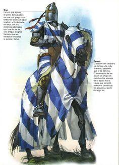 Caballero francés de la cruzada de Tunéz