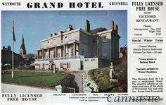 The Grand hotel, Greenhill, Weymouth, now converted to residential apartments. Once owned and run by the Wallis family.
