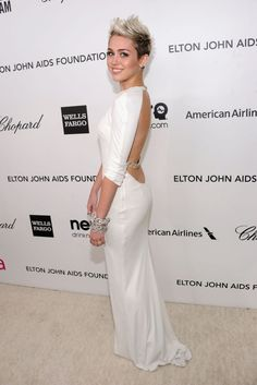 Miley Cyrus - Elton John AIDS Foundation Academy Awards Viewing Party 2013