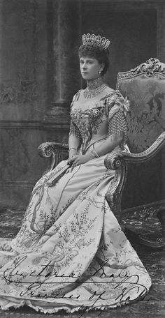 Queen Mary when Princess of Wales // Royal Collection Trust Princesa Victoria, Reine Victoria, Queen Victoria, Princess Mary, Princess Of Wales, Queen Mary Of England, Eugenie Of York, Royal Collection Trust, Royal Uk