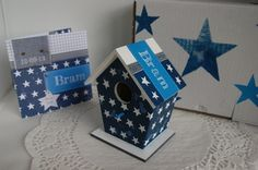 Birth-birdhouse for Bram, Born on 12-9-2013