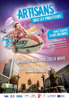 Artisans sous les projecteurs  mardi 8 novembre
