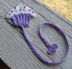 Ravelry: Cupcake Bookmark pattern ...
