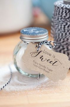 Wedding Favors.. something like this :D cute